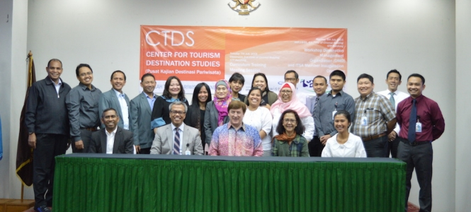 Workshop Destination Management Organization (DMO), CTDS Invited Professor Morrison Again