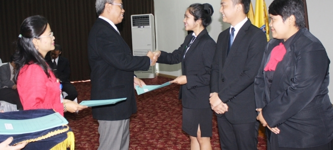The Closing of Final Project Assessment STP Bandung Periods August 2014